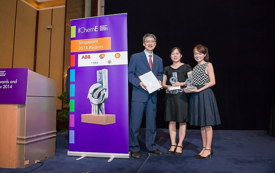 Shell Eastern Petroleum (Pte) Ltd was the major winner, scoring a hat-trick of awards, at the Institution of Chemical Engineers' (IChemE) Singapore Awards and Annual Dinner 2014