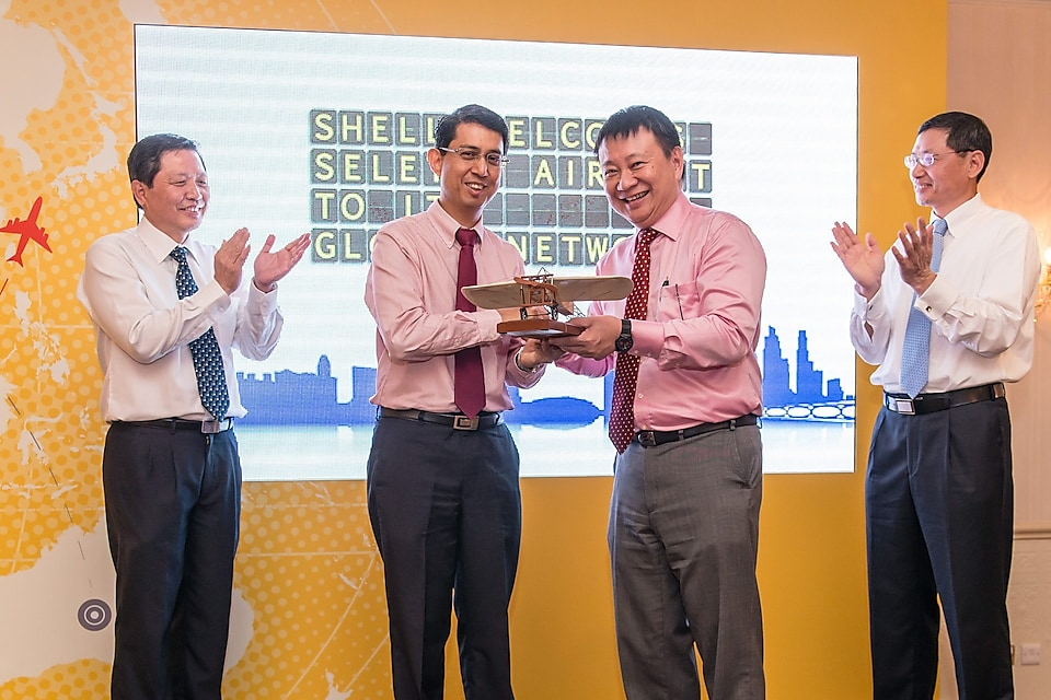 Shell Aviation became sole provider of fuel storage management at Seletar Airport in 2014