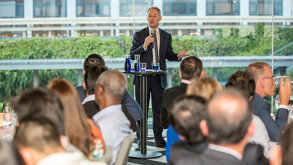 Shell Chief Climate Change Adviser David Hone addressed how nations could be provided opportunities for development without further adding carbon footprint, and highlighted technologies, such as Carbon Capture and Storage, that help us achieve net zero emissions.