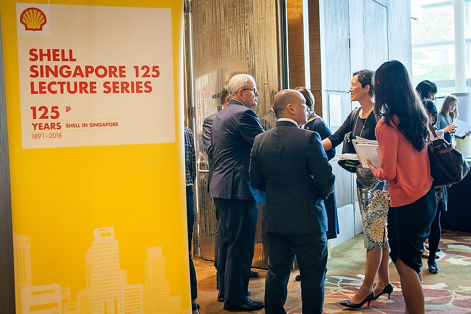 The launch was graced by almost 50 high-level executives, including business partners, heads of academia, city mayors and Shell leaders.