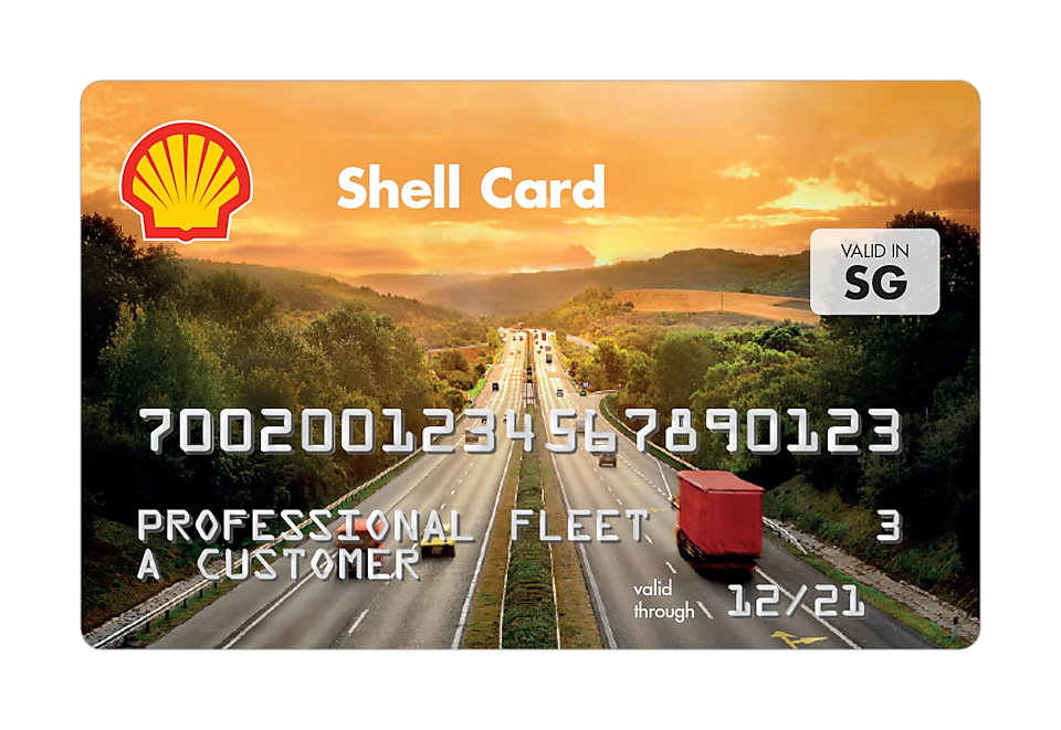 shell card M