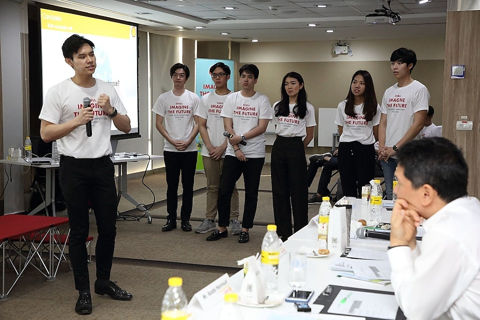 Team Thailand from Chulalongkorn University