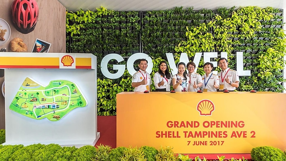 Shell Singapore debuts with new Tampines Ave 2 station.