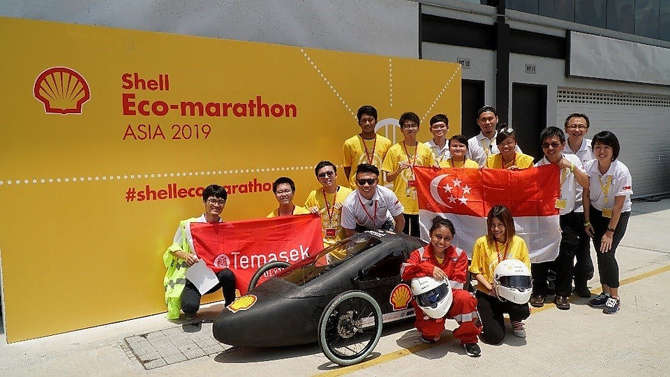 Temasek Polytechnic and their winning Hydrogen Car the H2 Challenger
