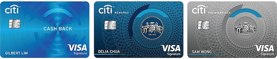 Citi Bank Cards