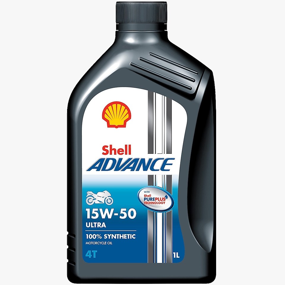 Packshot of Shell Advance Ultra