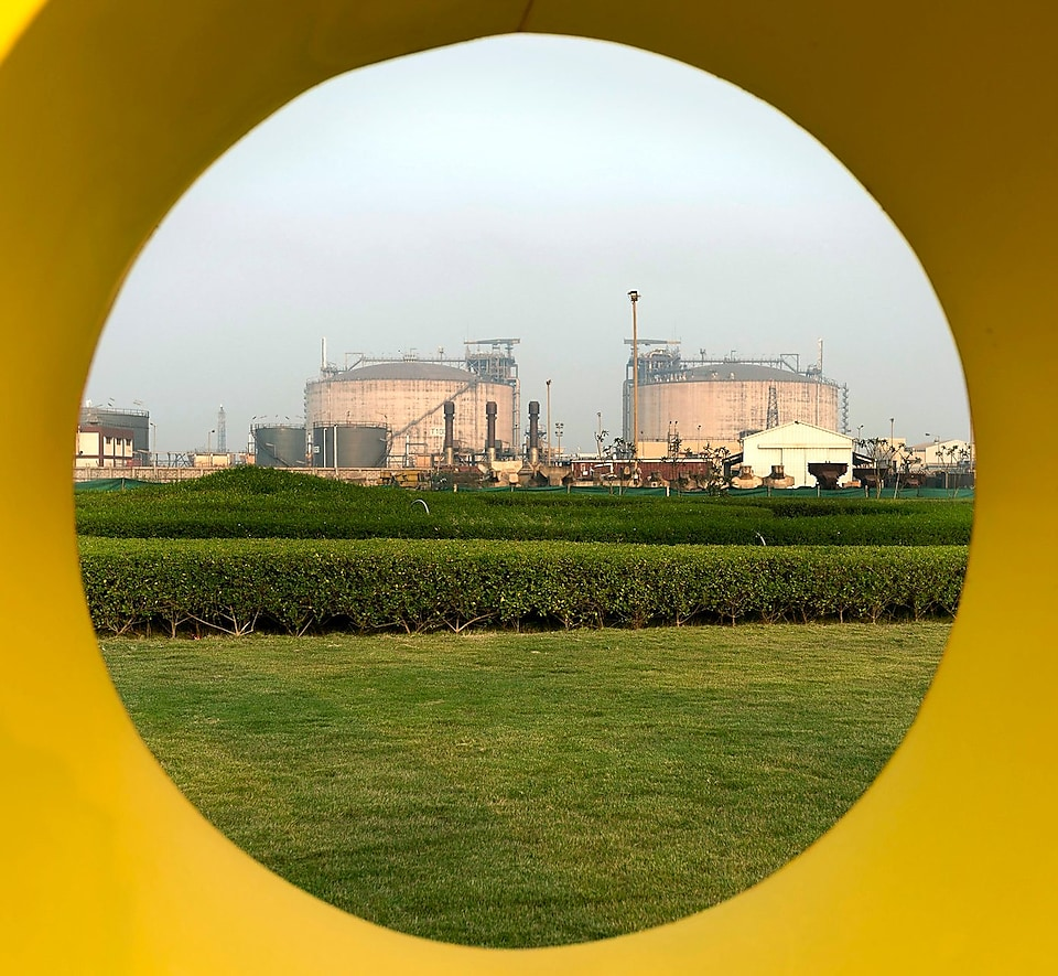 India Photography Project, The Netherlands, 2014 - Hazira LNG tanks